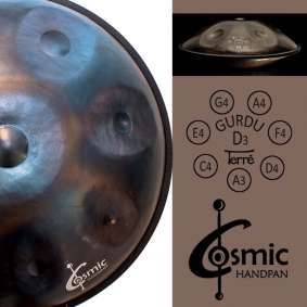 Hang Drum - Hand Pan Cosmic - D Gurdu