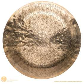 Gong Kwiat życia 52cm - Flower of Life od Peter Hess